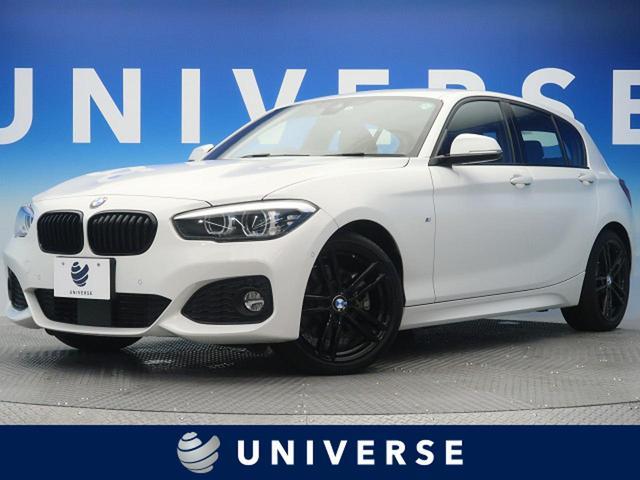 BMW 118d Mスポーツ エディションシャドー ACC ブラックレザーシート インテリジェントセーフティ LEDヘッドランプ 専用純正18インチAW 純正HDDナビ リアビューカメラ シートヒーター