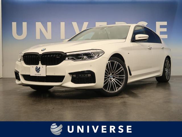 BMW 523i Mスポーツ 黒革シート 全席シートヒーター アクティブクルーズコントロール ヘッドアップディスプレイ 360°カメラ クリアランスソナー パドルシフト コンフォートアクセス