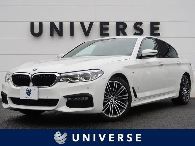 BMW 5シリーズ 523d Mスポーツ ハイラインPKG 衝突軽減ACC 黒革シート 前席シートヒーター 純正HDDナビ フルセグTV 全周囲カメラ LEDヘッドランプ 専用19インチAW パワートランク スマートキー HiFiスピーカー