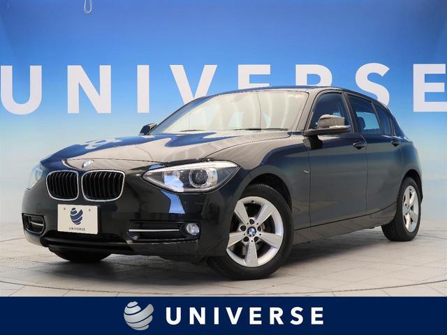 BMW 1シリーズ 116i スポーツ 純正ナビ バックカメラ コンフォートアクセス パーキングサポートパッケージ プラスパッケージ レッドライン入トラッククロスシート デュアルオートエアコン HIDヘッド クリアランスソナー 純正16AW