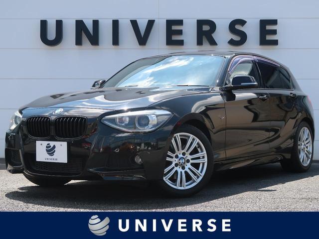 BMW 1シリーズ 116i Mスポーツ ドライビングアシストPKG 純正HDDナビ フルセグTV バックカメラ HIDヘッドランプ ETC クルーズコントロール レーンディパーチャー 専用17インチAW オートエアコン