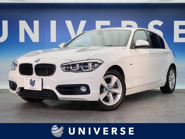 BMW 1シリーズ 118d スポーツ パーキングサポートパッケージ 純正ナビ Bluetooth バックカメラ コーナーセンサー クルーズコントロール LED コンフォートアクセス デュアルオートエアコン アイドリングストップ 禁煙