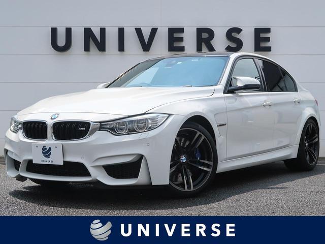 BMW M3 オプション19インチAW ドライビングアシスト LEDヘッドランプ 黒革 前席シートヒーター 純正ナビ フルセグTV バックカメラ ミラー内蔵ETC クルーズコントロール パドルシフト