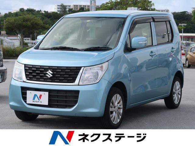 沖縄県の中古車ならワゴンR FXリミテッド CDオーディオ スマートキー オートエアコン アイドリングストップ 純正14インチAW