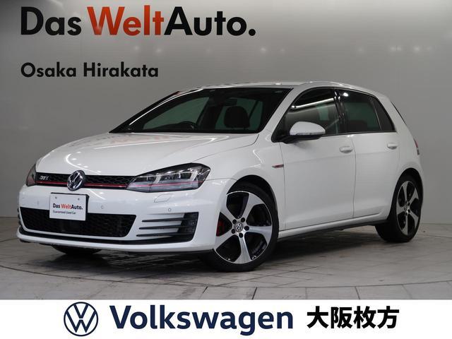 フォルクスワーゲン ゴルフGTI ベースグレード VW純正ナビ ETC バックカメラ DCC 18AW ACC コーナーセンサー キセノンヘッドライト フロントアシスト 死角検知 レーンアシスト 後方自動軽減装置 Bluetooth 認定保証1年
