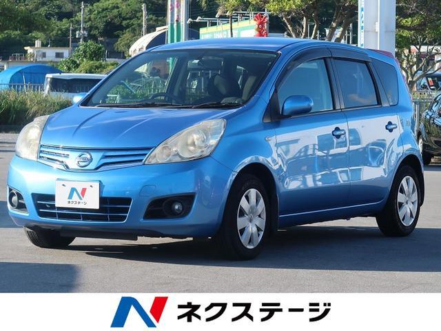 沖縄の中古車 日産 ノート 車両価格 23.7万円 リ済別 2011(平成23)年 5.0万km スカッシュブルー(PM)
