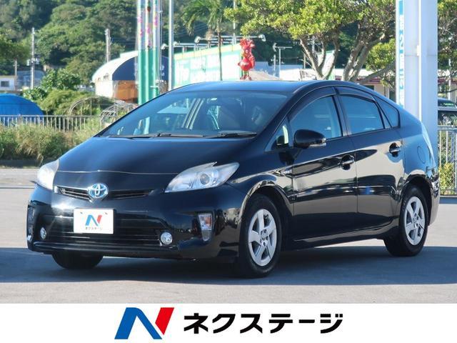 沖縄の中古車 トヨタ プリウス 車両価格 54.9万円 リ済別 2012(平成24)年 8.6万km ブラック