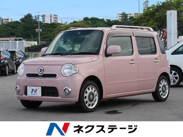 沖縄県の中古車ならミラココア ココアプラスX 社外ナビ フルセグTV スマートキー オートエアコン アイドリングストップ ドアバイザー