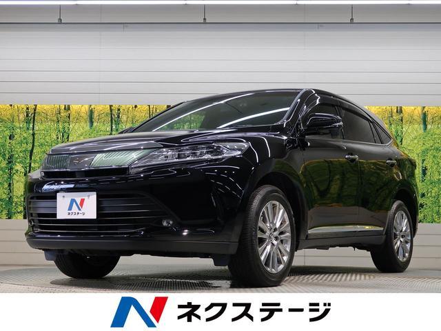 トヨタ ハリアー プレミアム 禁煙車 ALPINE10型ナビ Bluetooth トヨタセーフティセンス パワーバックドア レーダークルーズコントロール バックカメラ ビルトインETC LEDヘッドライト オートハイビーム