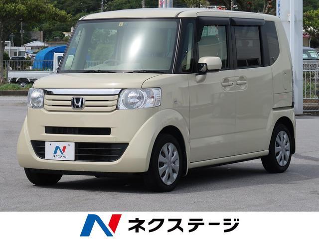 沖縄県豊見城市の中古車ならN-BOX G ディスプレイオーディオ スマートキー オートエアコン アイドリングストップ ETC