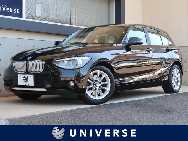 BMW 116i スタイル パーキングサポートパッケージ 純正ナビ バックカメラ ハーフレザーシート デュアルオートエアコン キセノン オートライト 純正16AW アイドリングストップ レインセンサー