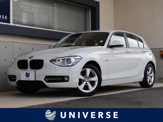 BMW 116i スポーツ プラスパッケージ コンフォートアクセス ライトパッケージ 純正ナビ バックカメラ ミラー内蔵ETC デュアルオートエアコン キセノン オートライト 純正16AW Bluetooth対応 禁煙車