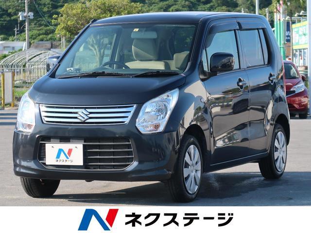 沖縄県の中古車ならワゴンR FX 社外ナビ キーレスエントリー フルセグTV オートエアコン アイドリングストップ ETC