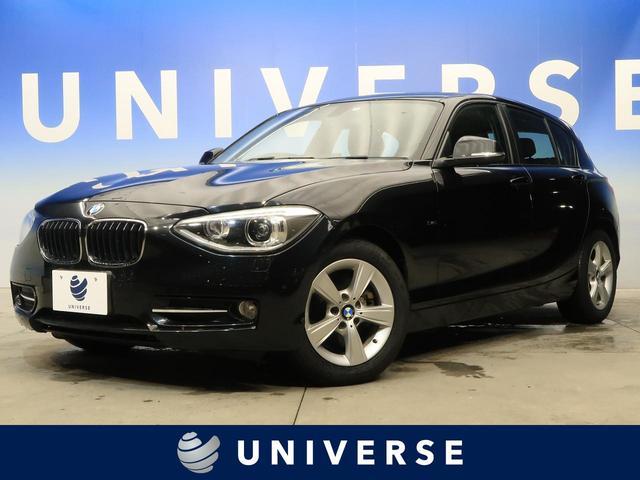 BMW 116i スポーツ サンルーフ パーキングサポートPKG 純正HDDナビ HIDヘッドランプ 純正16インチAW ETC