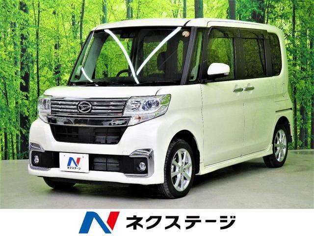 カスタムX SAIII 4WD・衝突軽減装置・純正ナビ・Bluetooth再生・フルセグTV・ETC・シートヒーター・LEDヘッドライト・LEDフォグランプ・電動スライドドア・スマートキー