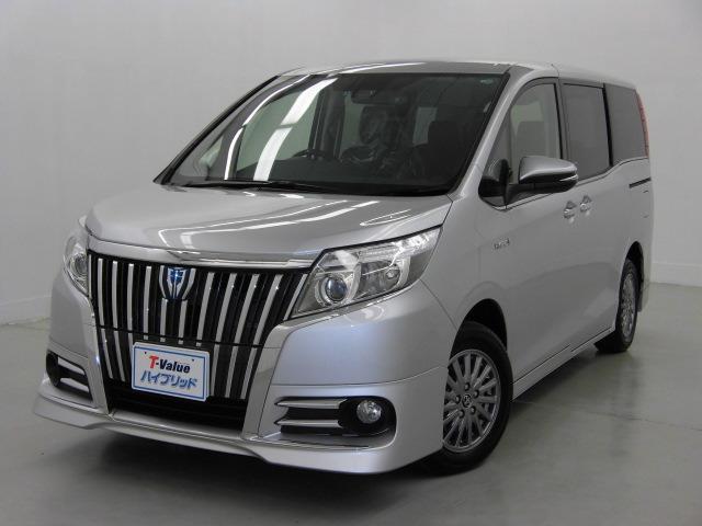 トヨタ HV Gi トヨタセフティセンスC 後席モニター
