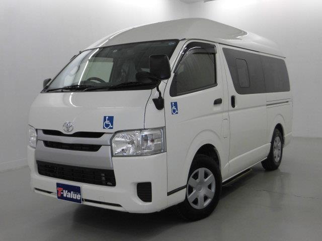 ハイエースバン ロングDX 福祉車輌 SDナビTV Bカメラ ドラレコ(トヨタ)