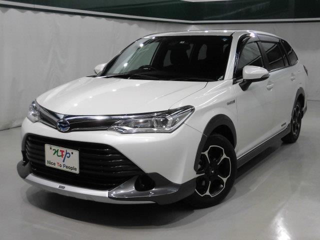 トヨタ カローラフィールダー 1.5HVーGモデリスタエアロセーフティセンスLEDヘッド