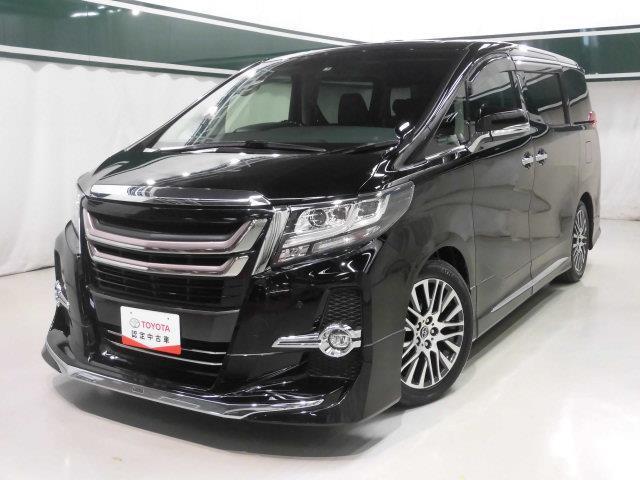 トヨタ 2.5S Cパッケージ サンルーフ本革電動シート後席モニタ