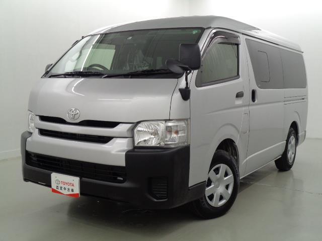 トヨタ ハイエースワゴン ロング 4WD SDナビTV BカメラETCキーレス保証付
