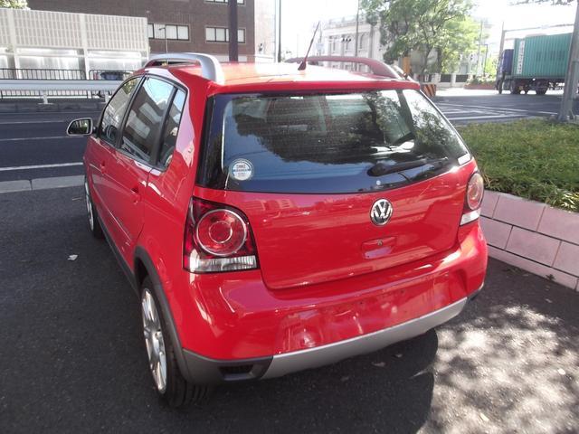 フォルクスワーゲン VW ポロ クロスポロ HDDナビ CD キーレス