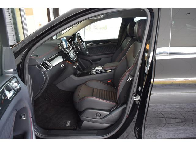 【助手席】人間工学に基づいて設計されたメルセデスのシートは、長時間運転時の疲労度を大幅に低減★