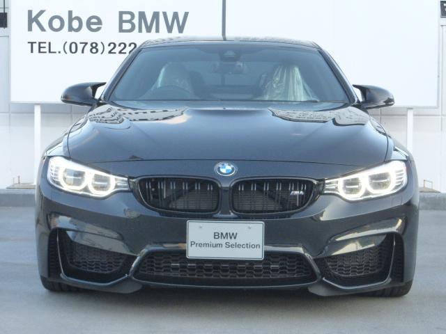BMW BMW M4クーペ M-DCT シルバーレザー