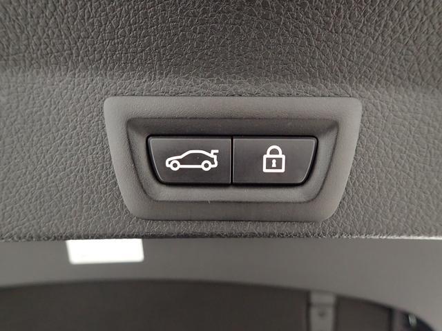 電動式リアテールゲート装備、重いテールゲートもボタン一つで楽々閉じる