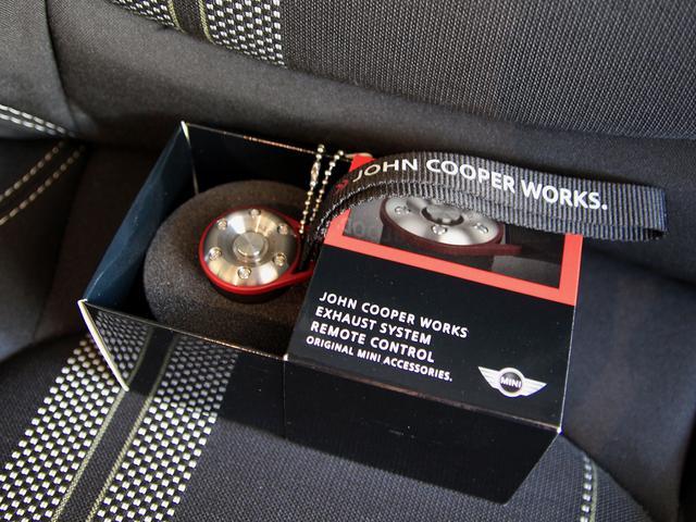 クーパーS JCWチューニングキット(ECUプログラミング・フラップ付スポーツマフラー・カーボンマフラーエンド)(42枚目)