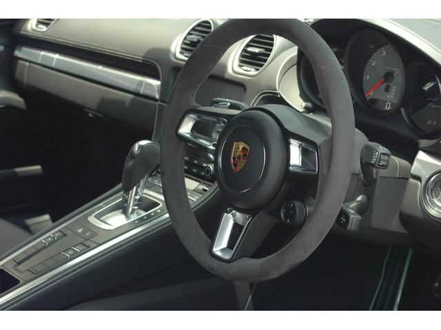 718ケイマンS Sport-Texインテリア デモカー(16枚目)