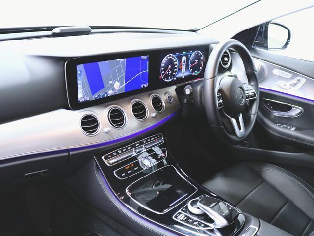 E200 ステーションワゴン アバンギャルド エクスクルーシブパッケージ (BSG搭載モデル) 4年保証 新車保証(4枚目)