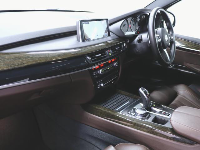 xDrive35d Mスポーツ 本革 シートヒーター パワーシート トランクスルー フロアマット HDDナビ マルチ CD ミュージックサーバー 音楽プレーヤー接続 Bluetooth接続 フルセグ DVD再生(4枚目)