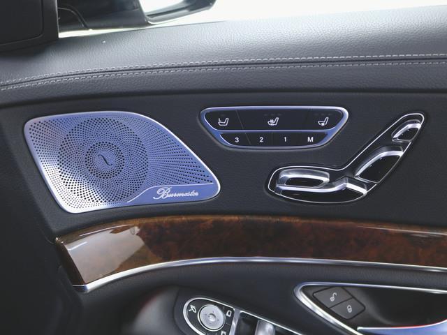 S550 ロング 本革 シートヒーター シートエアコン パワーシート フロアマット HDDナビ マルチ CD ミュージックサーバー 音楽プレーヤー接続 Bluetooth接続 フルセグ DVD再生(15枚目)