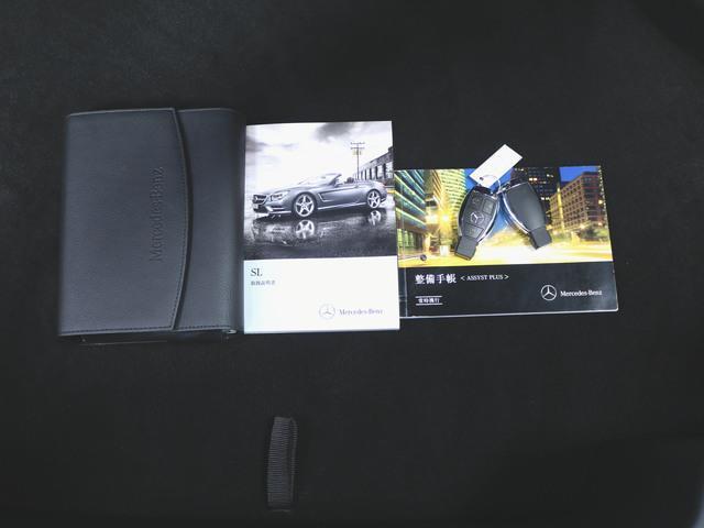 SL550 本革 シートヒーター パワーシート フロアマット HDDナビ マルチ CD ミュージックサーバー 音楽プレーヤー接続 Bluetooth接続 フルセグ DVD再生 ETC ガラスルーフ(30枚目)