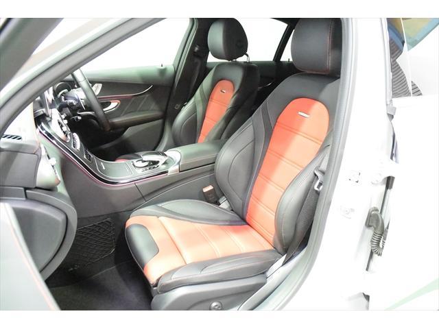 C63 レッドコンビレザー 右ハンドル 保証プラス加入済車両(13枚目)