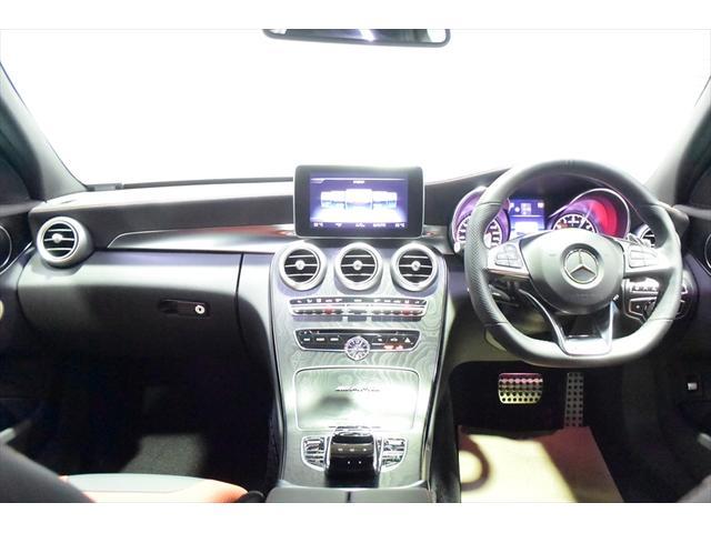 C63 レッドコンビレザー 右ハンドル 保証プラス加入済車両(15枚目)
