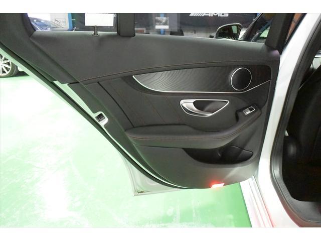 C63 レッドコンビレザー 右ハンドル 保証プラス加入済車両(19枚目)