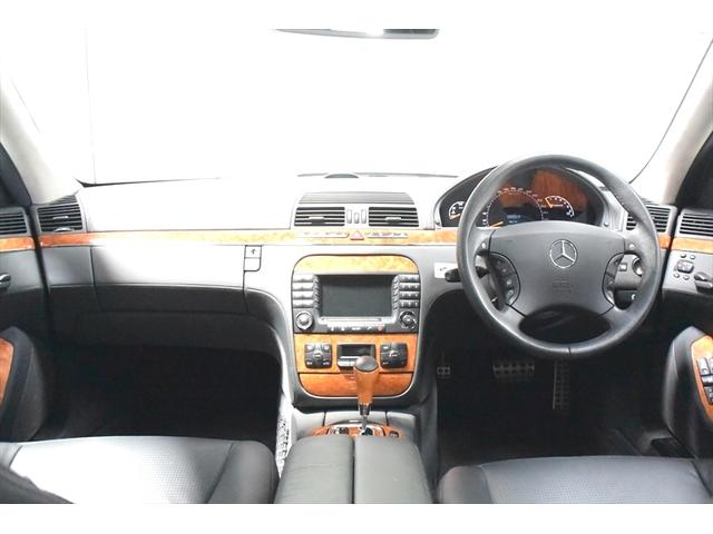 AMG S55ロング 右ハンドル ワンオーナー 禁煙車(10枚目)