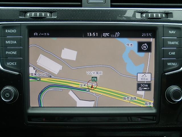 フォルクスワーゲン VW ゴルフGTI パフォーマンス特別仕様限定車 VW純正ナビゲーション DCC