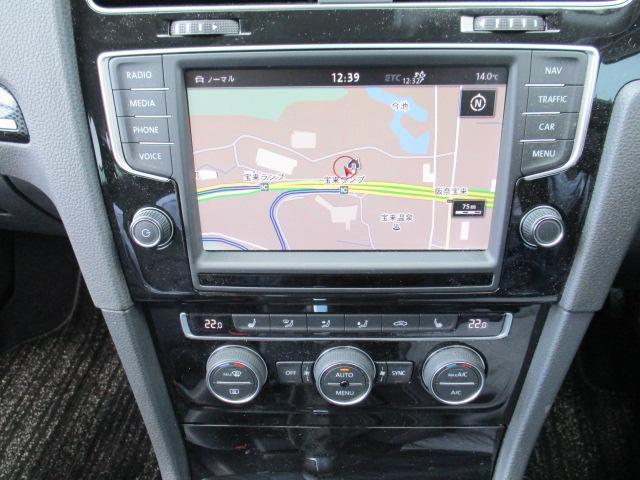 フォルクスワーゲン VW ゴルフヴァリアント TSIハイライン 純正ナビ 死角検知 後方自動ブレーキ搭載