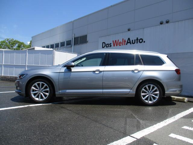新型TDIエレガンスライン VW純正ナビ 電動ゲート ETC(5枚目)