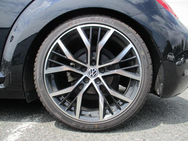 VW純正ナビ ベージュレザー 19インチアルミホイール(14枚目)
