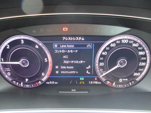 新型TDI 4モーション ハイライン 純正ナビ リヤモニター(14枚目)
