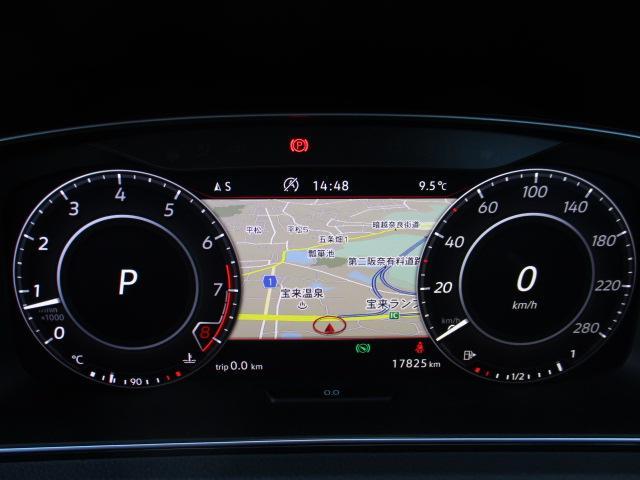 VW純正ナビ 死角検知 ETC デジタルメーター ACC(18枚目)