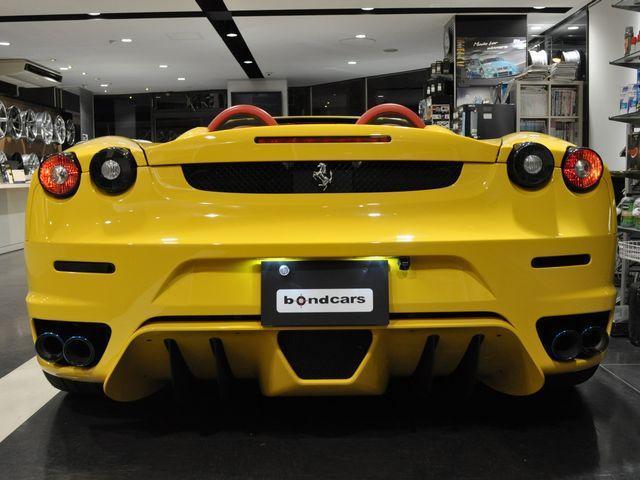 フェラーリ フェラーリ F430スパイダー F1 ノビテックエアロ ホイール パワクラマフラー 赤幌