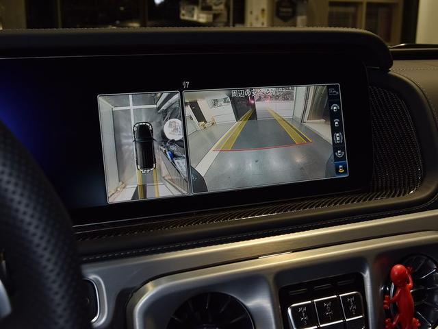 バックカメラはもちろん、360°カメラも付いております!