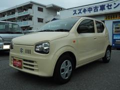 沖縄の中古車 スズキ アルト 車両価格 74万円 リ済別 平成28年 0.8万K シフォンアイボリーメタリック