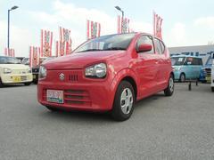 沖縄の中古車 スズキ アルト 車両価格 83.1万円 リ済別 平成28年 0.5万K ピュアレッド