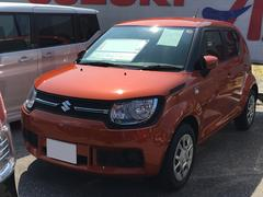 沖縄の中古車 スズキ イグニス 車両価格 118万円 リ済別 平成28年 1.0万K フレイムオレンジパールメタリック