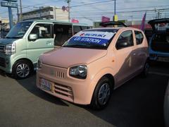 沖縄の中古車 スズキ アルト 車両価格 69万円 リ済別 平成29年 0.5万K コフレピンクパールメタリック